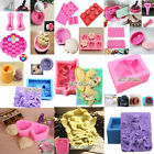 3D Silicone Soap Cake Mould Candle Candy Chocolate Jelly Bake Fondant Mold Craft