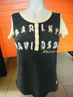 "Harley-Davidson T-Shirt ""Genuine Short Sleeve Knit Top"" Kurzarm mit Knopfleiste"