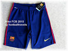 LARGE BARCELONA NIKE HOME 2015 DRI-FIT Football Shorts Soccer Calcio NEW