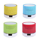 LED Mini Bluetooth Speaker USB Wireless Portable Music Sound Box With Microphone