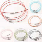 Wholesale 10/100PCS Steel Wire Thread Chain Cable Bracelet Craft Making DIY 1mm
