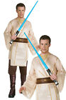 Adults Jedi Knight Costume Rubies New Star Wars Fancy Dress Film Party Outfit