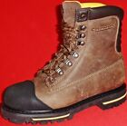 Men's CHINOOK TARANTULA Brown/Black Leather STEEL TOE Work Boots/Shoes