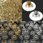 Wholesale 60Pcs Silver/Gold Ear Nuts Earring Back Stopper Finding Useful Jewelry