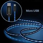 Visible LED Light USB Flash Charger Cable for iPhone 5/6 Samsung Android New