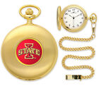 Iowa State Cyclones Pocket Watch Gold or Silver