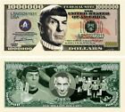Leonard Nimoy Star Trek Million Dollar Bill (Pick Quantity 5 to 5000 Bills)