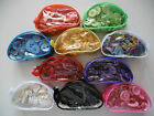 Buttons in clear zip pouch various sizes and colours approx 200 per bag