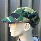 NEW ITALIAN ARMY SURPLUS ISSUE CAMOUFLAGE FATIGUE PEAKED COTTON CAP,BASEBALL NL