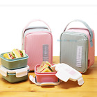 KOMAX Lunchmate BPA Free Mini Lunch Box Set with bag