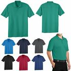 MENS HIGH PERFORMANCE, SHORT SLEEVE, POLO SPORT SHIRT, EASY CARE S-L XL 2X 3X 4X