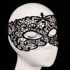 Sexy Black Lace Eye Mask Venetian Masquerade Prom Halloween Party Lingerie Fancy