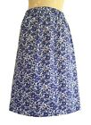 LADIES' UK 10 Liberty of London Handmade Summer Cotton Skirt in Betsy T Fabric