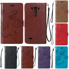 Luxury PU Soft Leather Magnetic Card Wallet Stand Case Slim Cover For LG L70 L90