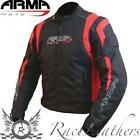 ARMR MOTO IKEDO 2 RED BLACK WATERPROOF MOTORCYCLE MOTORBIKE BIKE SPORTS JACKET