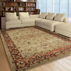 Multi-Color Traditional-Persian/Oriental Bordered Medallion Area Rug Floral 4319