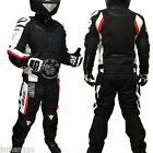 Summer Breathable Men Riding Motorcycle Clothing Alloy Shoulder Jacket and Pants