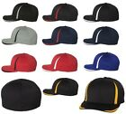 MEN'S MOISTURE WICKING TWILL CAP, MID-PROFILE, S/M, L/XL, COOL & DRY STRETCH FIT