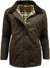 Womens Game Countrywear  Wax Quilted Jacket Coat