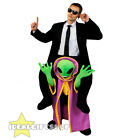 ALIEN PICK ME UP COSTUME ADULTS HALLOWEEN FANCY DRESS UNISEX MENS WOMENS