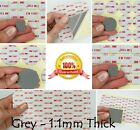 CLEAR - 1mm Thick - 3M VHB Acrylic Foam Tape Circles - SMALL or LARGE Round Pads