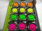 verchromte Metall Fahrradglocke Klingel Smiley pink gelb orange made in Holland