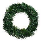 "12"" PLAIN SPRUCE WREATH GREEN 30cm Door Wall Pine Artificial Christmas Flowers"