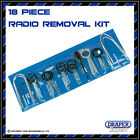 Draper Expert: 18 Piece Radio Removal Tool Kit - Porsche Audio Keys Set