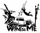 Witness Me sticker VINYL DECAL Mad Max Fury Furiosa War Boys Immortan Joe Nux