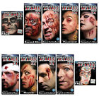 Tinsley Tattoo FX Transfers Halloween Skull Face Trauma Series Costume Accessory