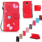 Flip Leather Wallet Card Holder Case Cover For Samsung Galaxy Note Mini Phone