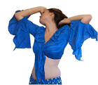 We3 Belly Dance Tribal  Gypsy Ghawazee Ruffled TOP. Buy 3, Get 1 Free! Closeout