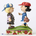 Jim Shore Peanuts  Baseball Schroeder and Lucy 4054082 New 2016