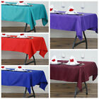 "10 pcs 54 x 54"" SQUARE POLYESTER Tablecloths Wedding Table Linens for Catering"