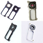 Back Rear Camera Lens Cover Glass With Frame Replacement Parts For LG G4