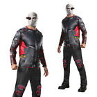 Rubies Mens Official Suicide Squad Deadshot Assassin Padded Fancy Dress Costume