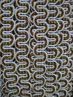 GOLD SILVER LUREX Metallic ART Costume CARD Ric Rac RIBBON BRAID WAVY CURVE TRIM