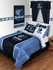 Memphis Grizzlies Comforter Sham & Valance Twin Full Queen King Size