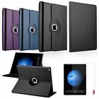 """360 Rotating Folio Leather Ultra Stand Case Cover+Screen Film For iPad Pro 12.9"""""""