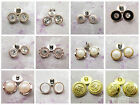 GOLD ROUND SEW ON BUTTONS *25 STYLES* HABERDASHERY SEWING CARDIGANS - UK SELLER