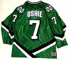TJ OSHIE NORTH DAKOTA FIGHTING SIOUX GREEN JERSEY WASHINGTON CAPITALS