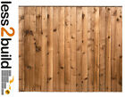 Heavy Duty Treated Wooden Timber Fence Panel -Select Size from 3ft,4ft,5ft&6ft