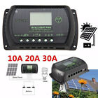 30A/20A 12V-24V LCD Display PWM Solar Panel Regulator Charge Controller Battery