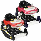 MyChild Chevro Car Design 2 In 1 Walker &amp; Rocker - From 6 Months To 12kg <br/> Folds Flat | Takes 2 x AA Batteries (Not Included)