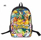 New Girl Boys Pokemon Go Pachaku  backpack school Bag H42*L29*W16cm