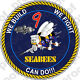 STICKER USN MCB 9 SEABEE CAN DO