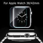 Premium Real Tempered Glass Screen Film Protector For Apple iWatch 1/2 38 42mm