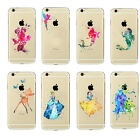 Cartoon Tinkerbell Ariel Princess Tempera Ornament Hard Cover Case For iPhone