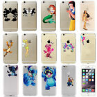 Kids Cartoon Shield Clear Stitch Collection Hard Cover Case For iPhone 7 7 Plus
