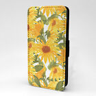 Sunflower Print Design Pattern Flip Case Cover For Sony Xperia - P872